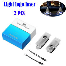 2x LED Projector Car Door Lights Shadow Puddle Courtesy Laser LOGO Light for BMW