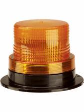 Narva 12-80V Single Flash Strobe Light Amber with Flange Base (85338A)