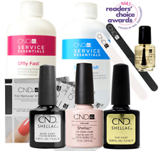 CND Shellac Starter Kit, Top/Base/Essentials/Color Beau