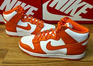 DS Nike Dunk Hi Retro Syracuse (2021) - DD1399-101 - Size 13