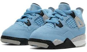Nike Air Jordan 4 Retro (TD) 'University Blue' Toddler Shoes BQ7670-400