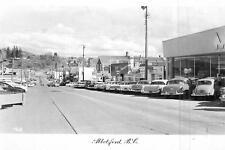 Photo. 1958-9. Abbotsford, BC Canada. Essendene Ave - autos