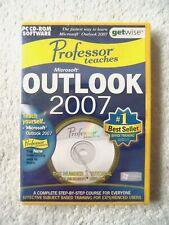 30097 - Professor Teaches Outlook 2007 [NEW & SEALED] - PC (2006) Windows Vi
