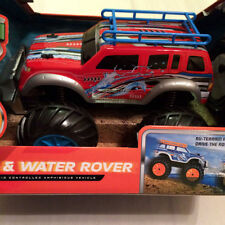 BLUE HAT TOY COMPANY LAND & WATER ROVER - RED