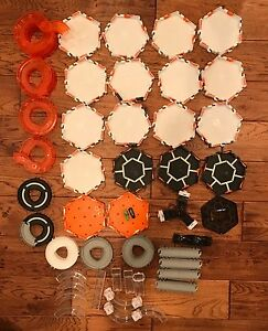 HEXBUG TRACK BUG CREATURE ACCESSORIES Lot of 65 Pieces + 2 bugs 🐜