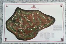 "Shinnecock Hills - Vintage Golf Course Maps print (30"" x 19"")"