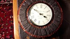 Wall Clock Wood Round Decorative Designer Home Furnishing Quartz Large 30cm