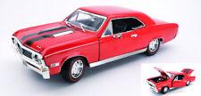 Chevrolet Chevelle Ss396 1967 Red / Black 1:18 Model MOTORMAX
