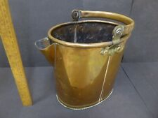 Antique Copper GWR Railway Gallon water jug with folding handle .GWR marked