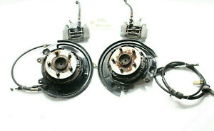 2000-2005 TOYOTA CELICA GTS REAR DISC BRAKE CONVERSION CALIPER SPINDLE HUB P7076