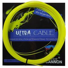 Corde Tennis WEISS CANNON Ultra Cable 1.23 n.3 matassine 12m monofilamento fluo