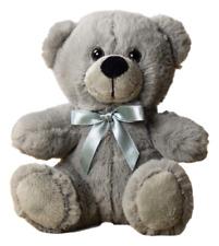 "6"" Gray Plush Teddy Bear Stuffed Animal Toy Gift New"