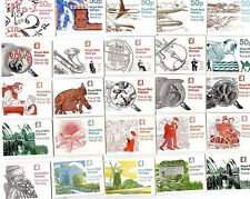 GB - Decimal Stamp Booklets FB55-FH38 MNH Cylinders and Variants