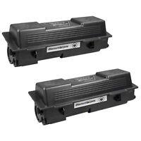 2 Pack TK-1142 TK1142 Black Laser Toner Cartridge for Kyocera Mita FS 1035 1135