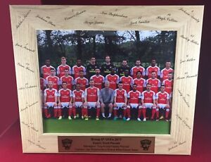 Photo Frame COACHES GIFT Custom Engraved Team Manager Gift
