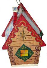 Russian Dacha Cottage Ornament Fair Trade Eco Christmas Crossroads