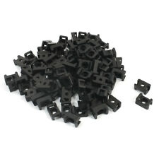4.5mm Width Tie Cable 5.2mm Mounting Screw Saddle Base Holder 90 Pcs K4Y1 S1E4