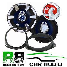 "Vauxhall Zafira 6.5"" 17cm Audiobahn Car Front Door Speaker Upgrade & Brackets"