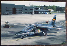 AVIATION, PHOTO, AVION ALPHA JET, 8-NI, E 37