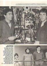 Ga2 Clipping-Ritaglio 1980 Beppe e Franco Baresi Due volte all'anno fingiamo..