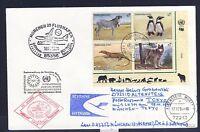 52066) LH FF München - Tokio 18.11.94, Brief ab UNO Wien SPA VBL TAB Tiere