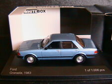 FORD GRANADA MKII 1983 BLUE METAL WHITEBOX WB021 1/43 4 PORTES FOUR DOORS BLEU