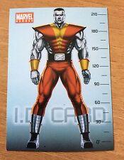 COLOSSO COLOSSUS figurina adesivo MARVEL HEROES X-MEN  AVENGERS PREZIOSI