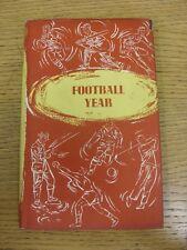 LIBRO c1958: ANNO DI CALCIO DA Percy M. Young-Il Sportsman's Club Edition, Hard
