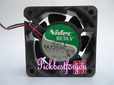1pc Nidec TA225DC M34313-16G1 DC24V 0.16Amp 60*60*25mm 2pin fan #MB63 QL
