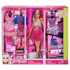 Rara muñeca Barbie más 5 conjuntos V7530 Totalmente Nuevo Y Sellado