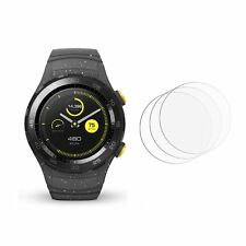 2 x New Front Clear LCD Screen Display Protector Film Foil For Huawei Watch 2