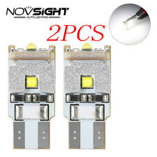 2Pcs NOVSIGHT 9W T10 W5W 194 168 CREE LED Bulbs Car Side Marker Door 6500K Light