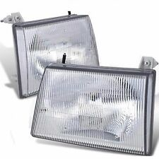 JAYCO EAGLE 1997 1998 1999 HEADLIGHTS HEAD LIGHT FRONT LAMPS RV - SET