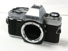 Minolta X-300 35mm Film SLR Camera Body Only  Minolta X300 silver