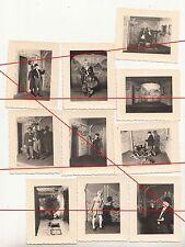 Foto Konvolut 1941 & 1942 Mönchsberg Han. Theaterstück * schön beschriftet IIWW