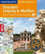 POLYGLOTT REISEFÜHRER Dresden Leipzig & Meißen 2016/17 UNGELESEN wie neu