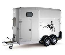 Galloping Horse Car Trailer Box Bonnet Truck Sticker Decals Large LSH14