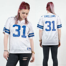 REEBOK INDIANAPOLIS COLTS WHITE BLUE NFL MESH AMERICAN FOOTBALL JERSEY TOP 8 10