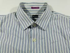 KL368 PAUL SMITH striped shirt size 16/41, excellent+ condition!