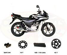 Chain And Sprocket Kit for Honda CBF125 2009 - 2014 Models Heavy Duty