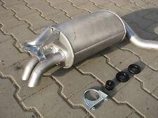 Silencer for Mercedes W201 190 2.0 2.3 2.6 E 1991-1993 exhaust rear F037