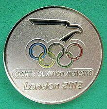 LONDON 2012 Olympic MEXICO NOC Internal team - delegation round pin