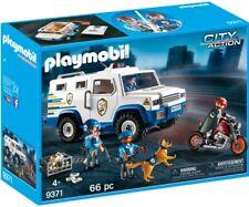 CJ9371 Furgón blindado Policía 9371 playmobil Policía police