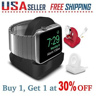 For Apple Watch SE/6/5/4/3/2/1 Series Stand Charging Dock Station Holder Mount