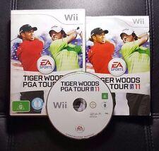 Tiger Woods PGA Tour 11 (Nintendo Wii, 2010) Wii Game - PAL