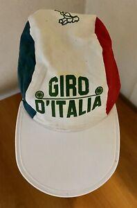 CAPPELLINO BERRETTO CAP EROICA COLLEZIONE CICLISMO GIRO D'ITALIA ORIGINALE 1970