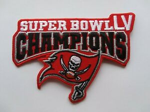 SUPER BOWL LV 55 JERSEY JACKET SHIRT HOODIE TAMPA BAY BUCCANEERS CHAMPS PATCH 2