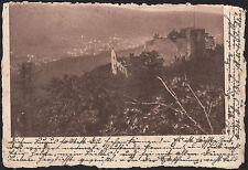 022/ AK Ansichtskarte  Baden Baden Altes Schloß Hohen Baden
