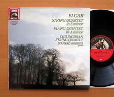 EL 27 0420 1 Elgar String Quartet Piano Quintet Chilingirian 1986 EMI Digital NM