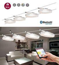 Paulmann Smart LED Seilsystem DiscLED II 4x4W Bluetooth Dimm+ Weißlichtsteuerung